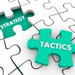 What is the difference between Marketing Strategy and Advertising Tactics?